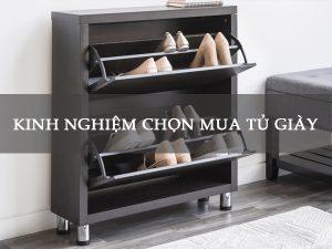 chọn mua tủ giày