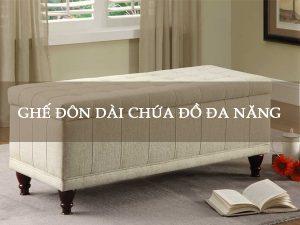 ghế đôn dài chứa đồ đa năng Hà Nội