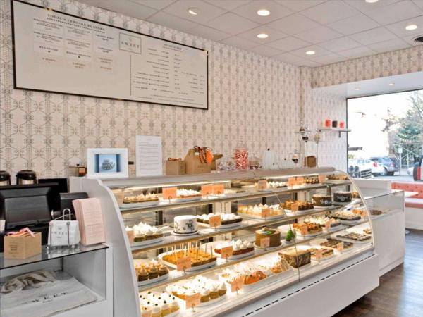 setup cửa hàng bánh kem