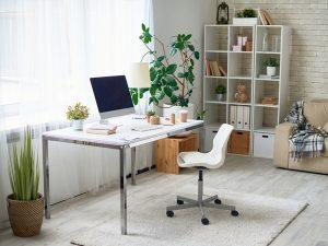 thiết kế bàn làm việc tại nhà