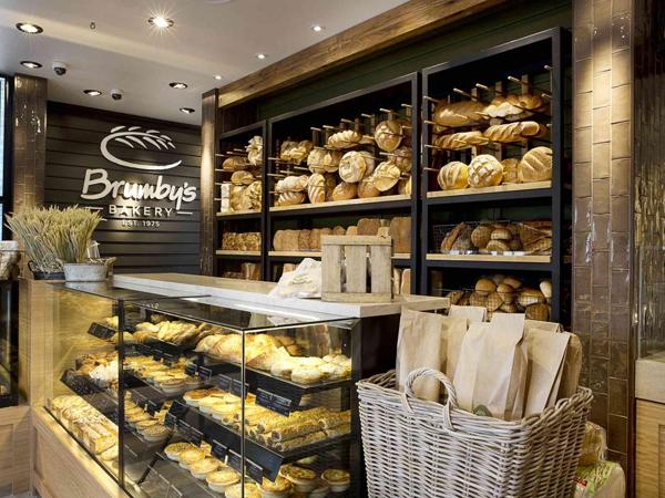 thiết kế quán bánh mì