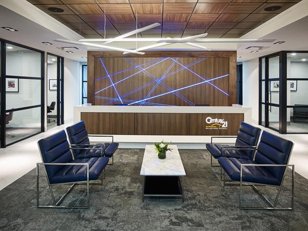 thiết kế văn phòng bất động sản