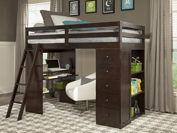 bàn học liền giường ngủ giá rẻ