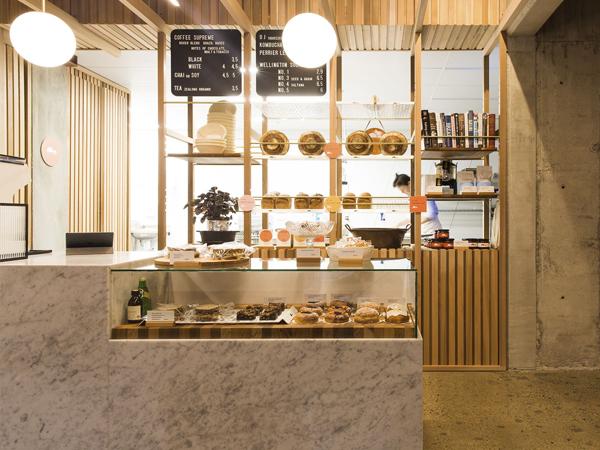 Ý tưởng decor tiệm bánh ấn tượng