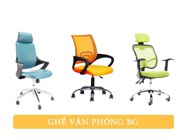 ghế văn phòng hãng nào tốt - ghế văn phòng bg