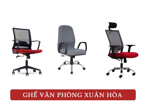 ghế văn phòng hãng nào tốt - ghế văn phòng xuân hòa