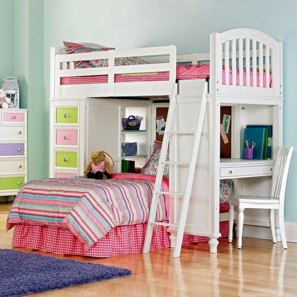giường 2 tầng có bàn học