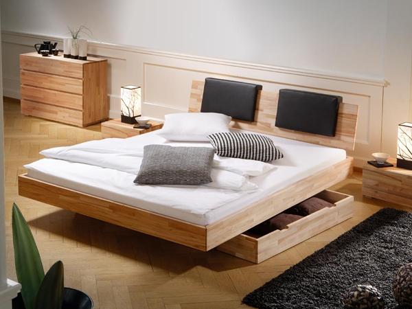 giường ngủ có ngăn kéo để đệm