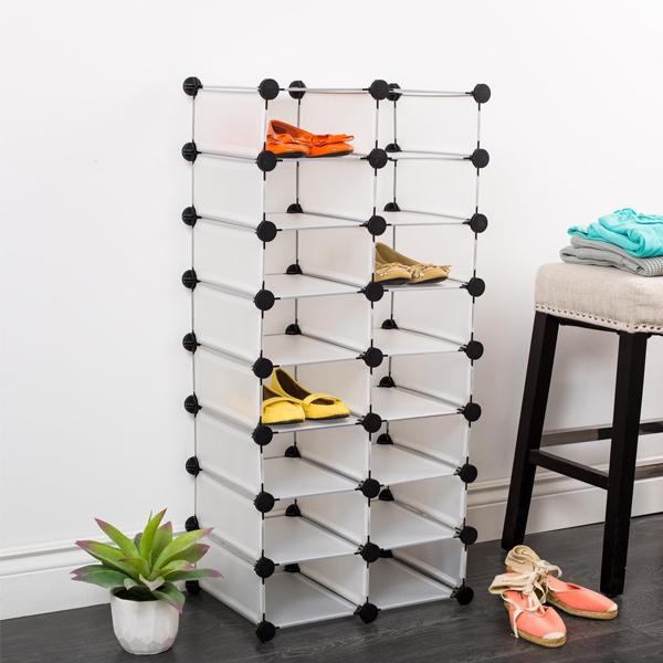 tủ để giày dép bằng nhựa