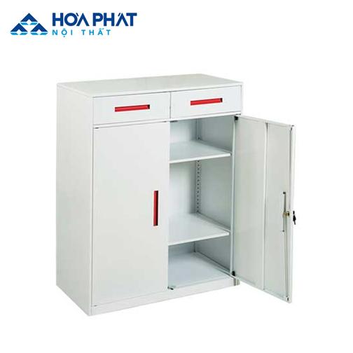 tủ đựng tài liệu bằng sắt hòa phát TU12NKD