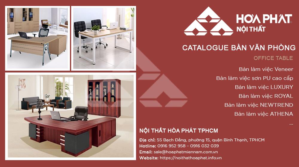 Catalogue Bàn Văn Phòng 2020