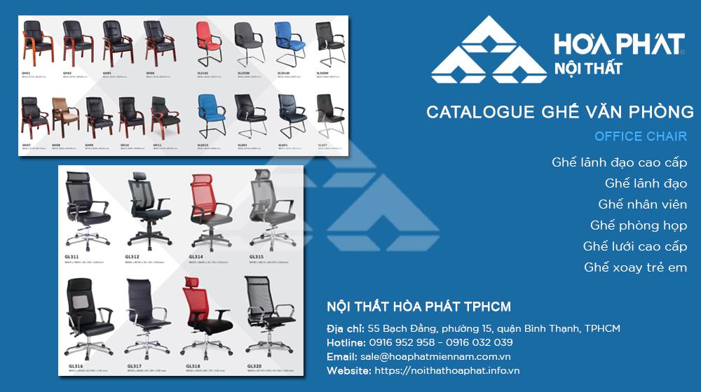 Catalogue Ghế Văn Phòng