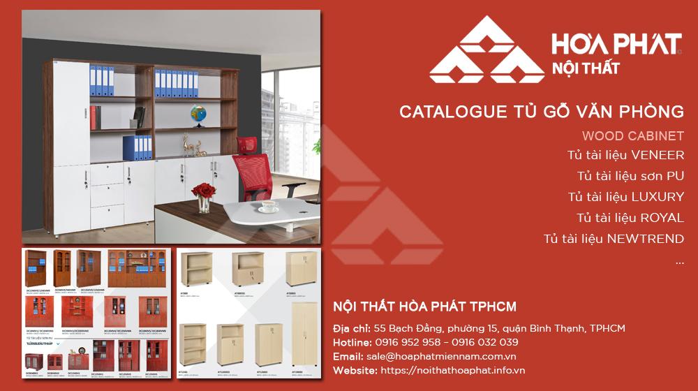 Catalogue Tủ Gỗ Văn Phòng