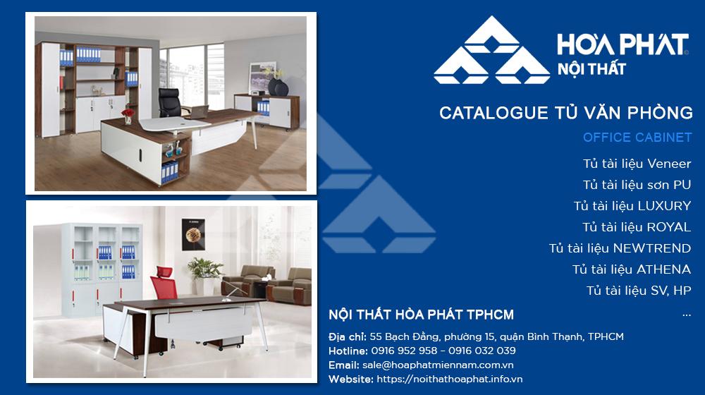 Catalogue tủ Văn Phòng 2020