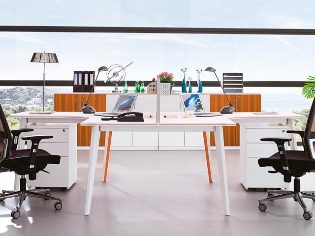 cụm bàn làm việc 2 người
