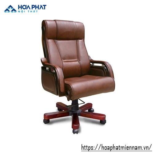 ghế giám đốc gỗ tự nhiên hòa phát TQ11