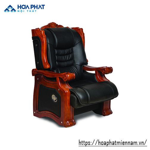 ghế giám đốc gỗ tự nhiên hòa phát TQ26