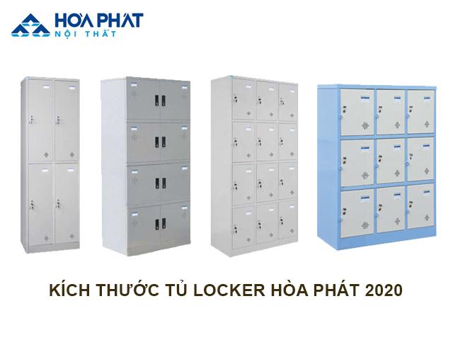 kích thước tủ locker Hòa Phát