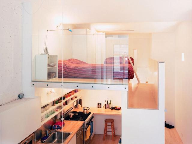 trang trí gác lửng thành phòng ngủ