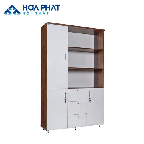 tủ gỗ đựng tài liệu văn phòng LUX1960-3B2
