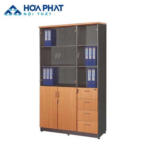 tủ gỗ đựng tài liệu văn phòng NT1960-3G4D