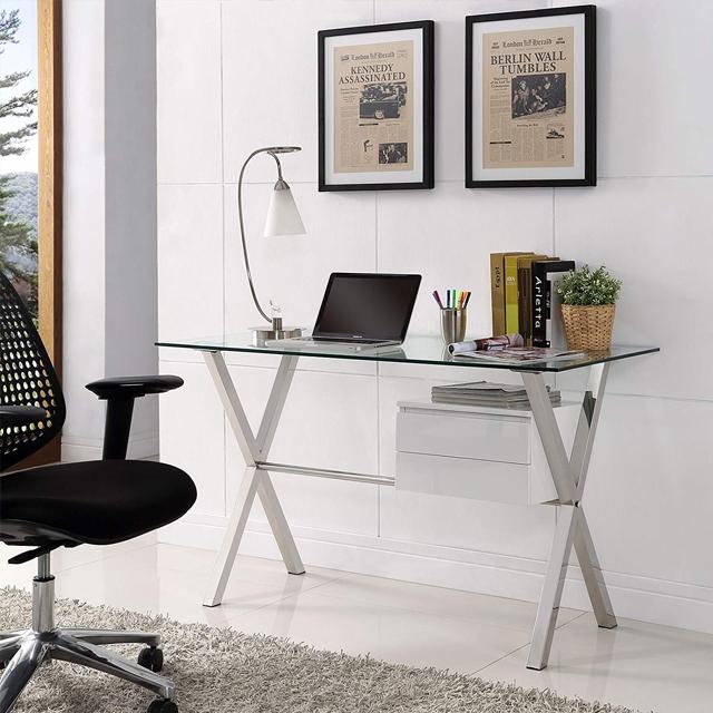 bàn cá nhân văn phòng đẹp chữ x