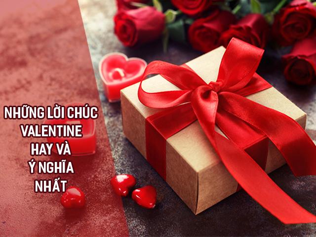 lời chúc Valentine hay và ý nghĩa