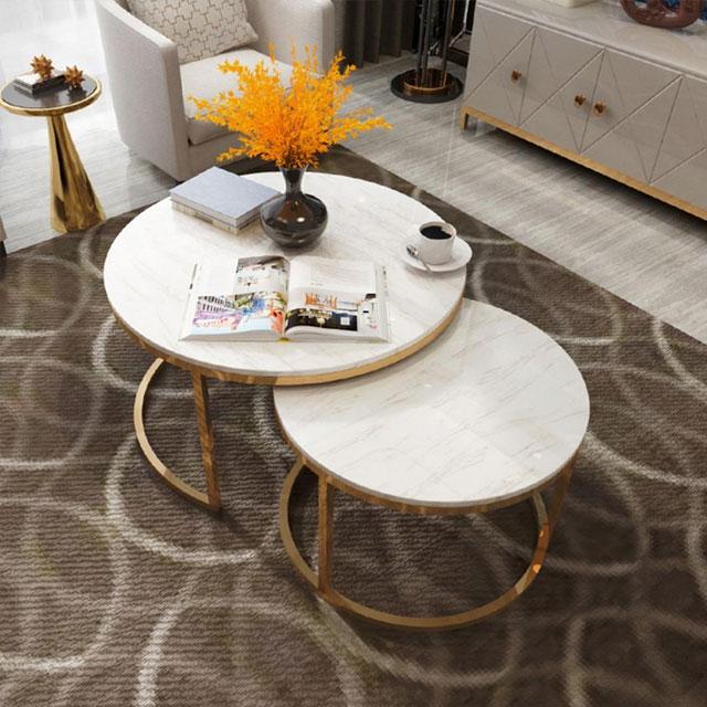 bàn trà sofa mặt đá