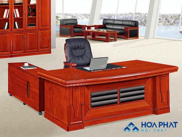 mẫu bàn giám đốc hiện đại DT1890V14