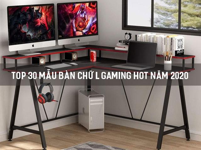 bàn chữ L gaming