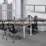 bàn làm việc chữ U