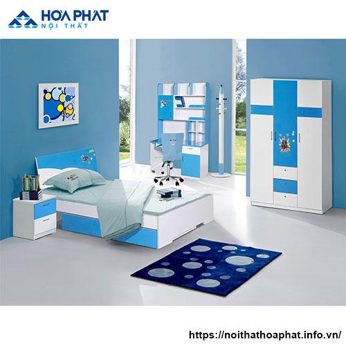 Bộ Giường Tủ Phòng Ngủ Bé Trai Hòa Phát