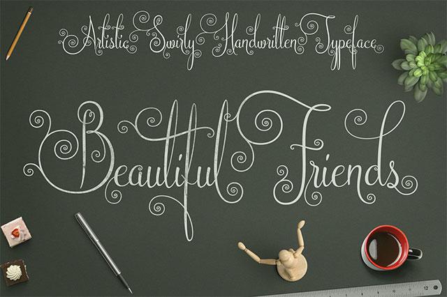 font việt hóa đẹp 2020 Beautiful Friends