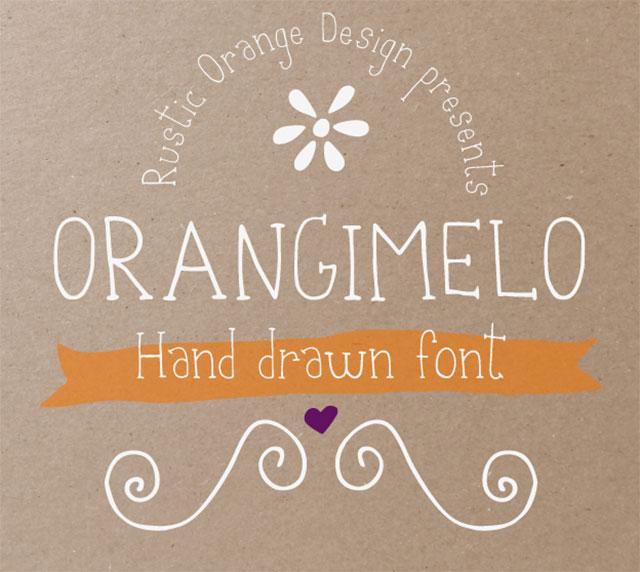 font việt hóa đẹp 2020 Orangimelo