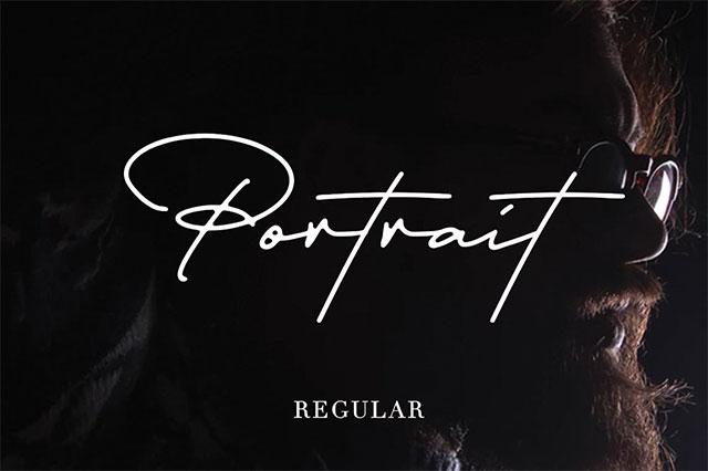 font việt hóa đẹp 2020 Portrait Script Bounce