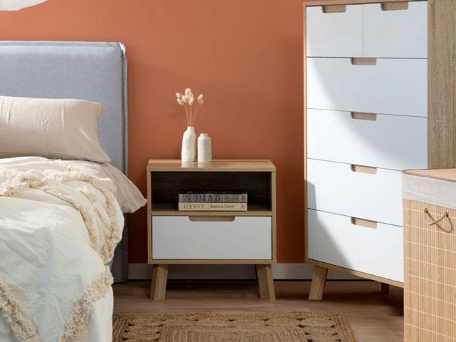 tủ gỗ nhỏ để đầu giường