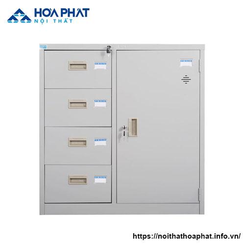 Tủ hồ sơ sắt giá rẻ TPHCM TU88-4D