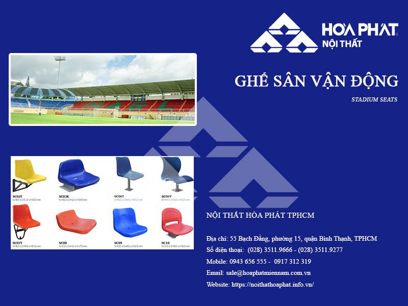 Catalogue Ghế sân vận động 2020