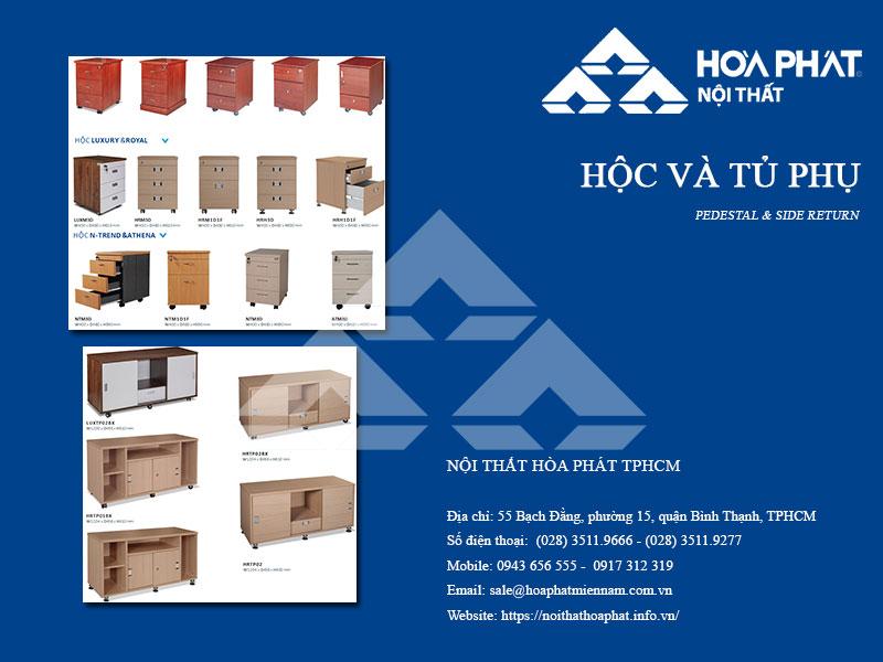 Catalogue Hộc - Tủ phụ văn phòng