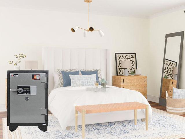 Hướng đặt két sắt trong phòng ngủ