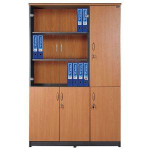 tủ gỗ hòa phát NT1960-3B