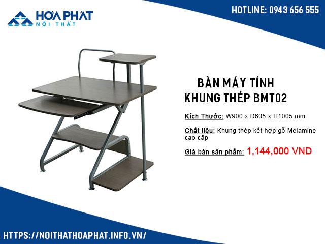 bàn để máy tính nhỏ gọn giá rẻ BMT02