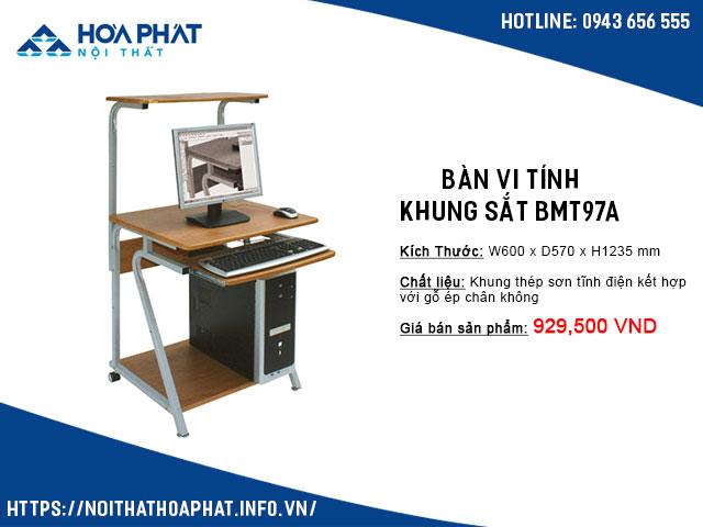 bàn để máy tính nhỏ gọn giá rẻ BMT97A