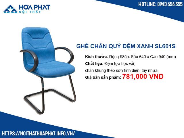 Ghế chân quỳ đệm xanh Hòa Phát SL601S