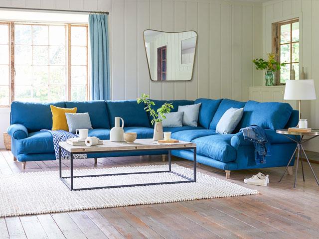 bàn trà cho sofa góc