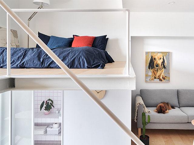 thiết kế phòng ngủ liềnthiết kế phòng ngủ liền phòng khách phòng khách