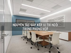 vị trí ngồi trong phòng họp
