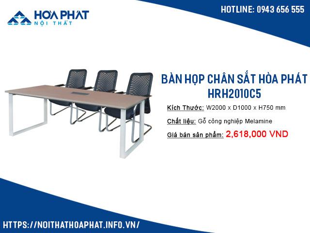 bàn họp có ổ điện HRH2010C5