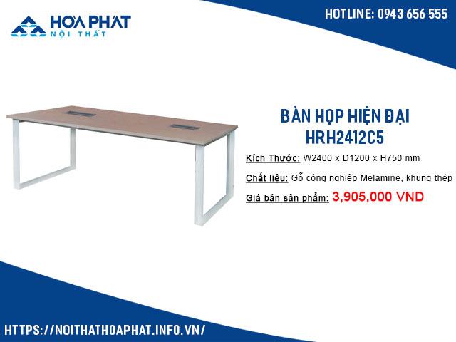 bàn họp có ổ điện HRH2412C5