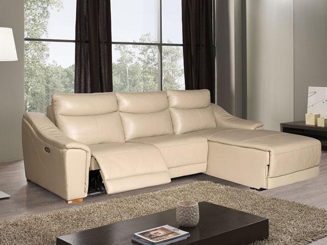 Sofa da giá rẻ SF108A